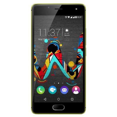 Wiko U Feel Dual-SIM limone-grau Android Smartp...
