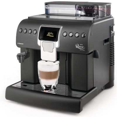 Philips Saeco Saeco 10004691 Royal Gran Crema Kaffeevollautomat Schwarz