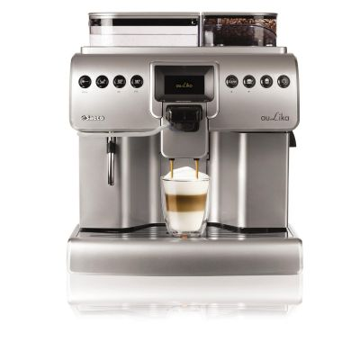 Saeco 10004472 Aulika One Touch Cappuccino Focus Kaffeevollautomat Metall