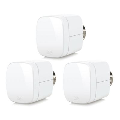 elgato Elgato Eve Thermo 3er Set Heizkörperthermostat für Apple HomeKit