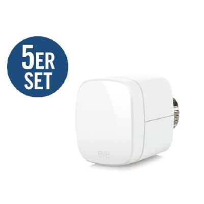 elgato Elgato Eve Thermo 5er Set Heizkörperthermostat für Apple HomeKit