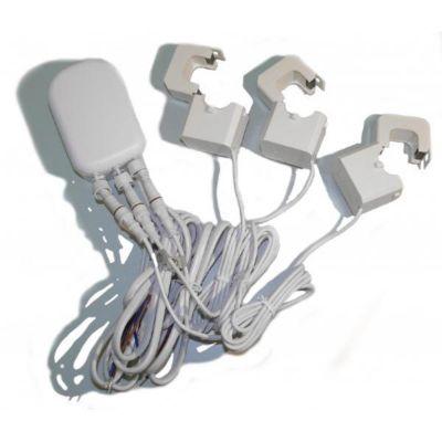 Aeon  Labs Strommesssensor Zangenamperemeter mit drei Zangen (200A)