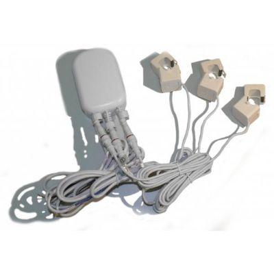Aeon  Labs Strommesssensor Zangenamperemeter mit drei Zangen (100A)