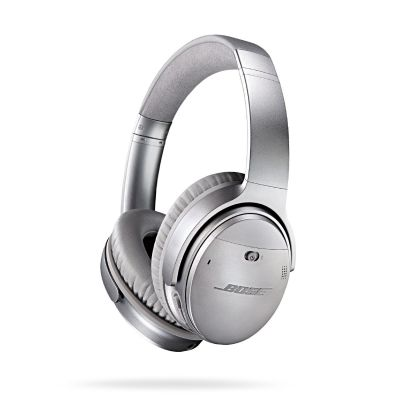 Bose BOSE Quietcomfort 35 QC35 Over Ear Silber - Noise Cancelling wireless Kopfhörer