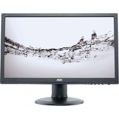 """AOC  e2460Pq /BK 61 cm (24"""") 16:9 Full HD Monitor VGA/DVI/DP 2 ms 50Mio:1 LS hv"""