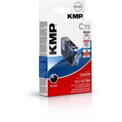 C73 -Tintenpatrone Schwarz kompatibel Canon CLI-521BK