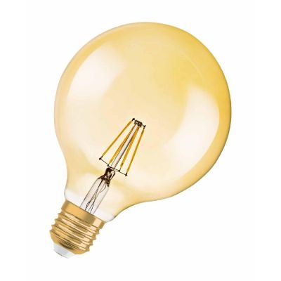 Osram E27 4W 824 LED-Globelampe Vintage Edition 1906