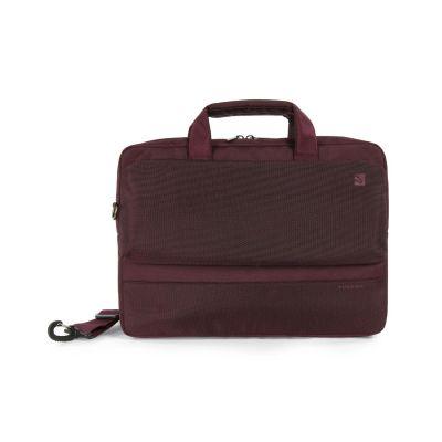 Tucano Dritta Tasche für MacBook Pro 15 Retina und 13/14 Notebooks, weinrot