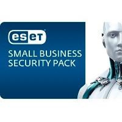 ESET  Small Business Security Pack 10User 1Jahr /ES,FS,MailS,MobS,Remote Admin