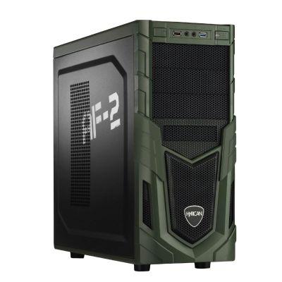 Military Gaming 5218 PC i5-6600 16GB 1TB HDD+240GB SSD AMD RX 480 W10