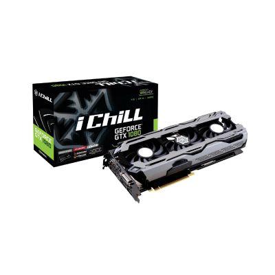 Inno3D GeForce GTX 1080 iChiLL X3 8GB GDDR5X Grafikkarte 3xDP/DVI/HDMI