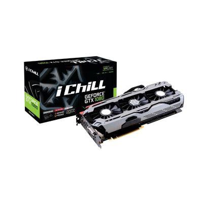 Inno3D  GeForce GTX 1080 iChiLL X4 8GB GDDR5X Grafikkarte 3xDP/DVI/HDMI