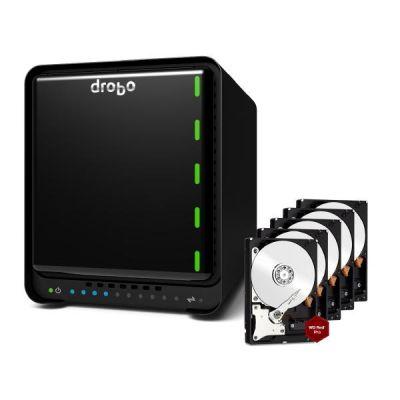 Drobo  5Dt DAS System 5-Bay 20TB inkl. 5x 4TB WD RED PRO WD4002FFWX