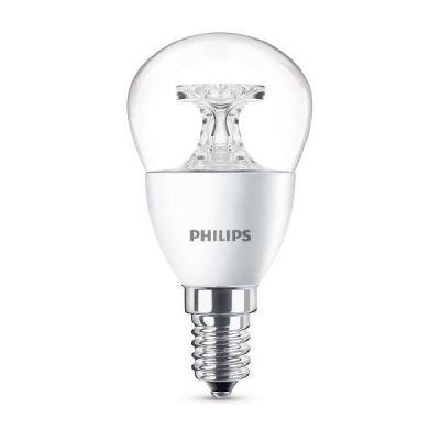 Philips E14 5,5W 827 LED-Tropfenlampe, klar