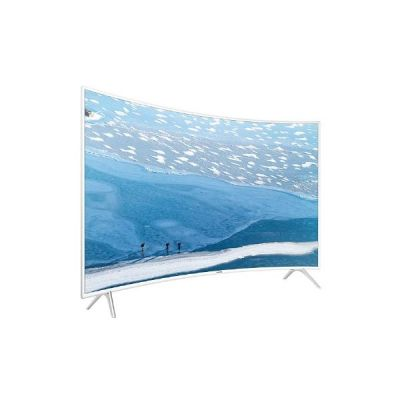 4K UE55KU6519 138cm 55´´ UHD Curved Fernseher weiß