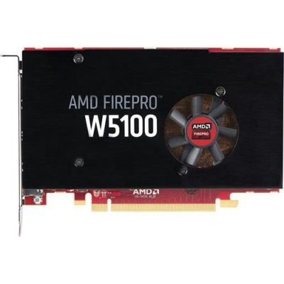 HP AMD FirePro W5100-Grafikkarte – J3G92AT – PCIe 3.0 x16 4GB GDDR5 4 x DP