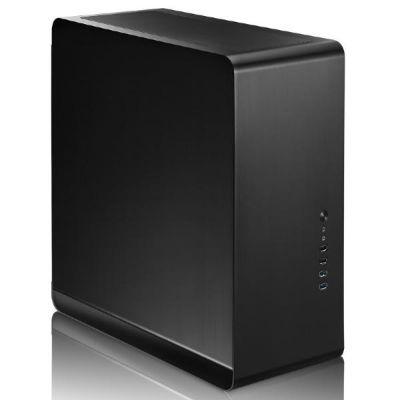 Cooltek  Jonsbo UMX4 Midi Tower mATX Gehäuse, USB3.0, Schwarz