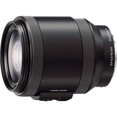 E PZ 18-200mm 3.5-6.3 OSS E-Mount Reise Zoom Objektiv (SELP-18200)