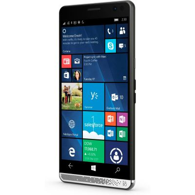 Elite x3 schwarz Windows 10 mobile Smartphone