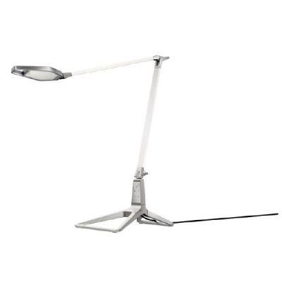 Leitz LEITZ LED Tischleuchte Style Standfuss aus stabilem Zink geformt aus einem Guss weiß (EEK: A)