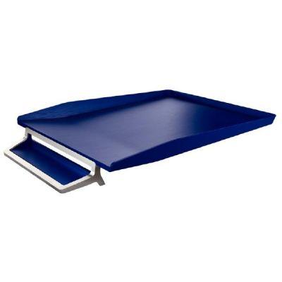 Leitz LEITZ Briefkorb Style mit integrierter Stifteablage titan blau