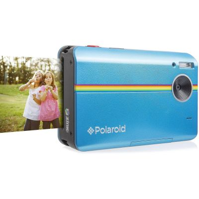 Polaroid Z2300 Sofortbildkamera Digitalkamera blau