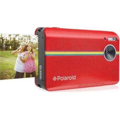 Polaroid Z2300 Sofortbildkamera Digitalkamera rot