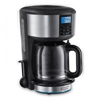 Russell Hobbs 20680-56 Buckingham Digitale Glas Kaffeemaschine