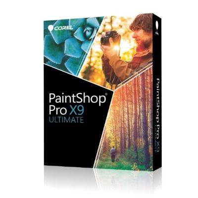 Corel PaintShop Pro X9 Ultimate Minibox, DE
