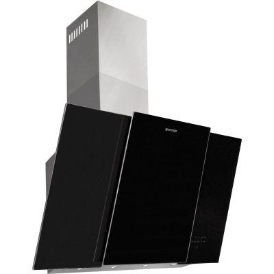 Gorenje  DVG 8565 X Wandhaube 80 cm schwarz Edelstahl
