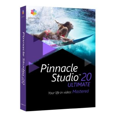 Corel Pinnacle Studio 20 Ultimate Box