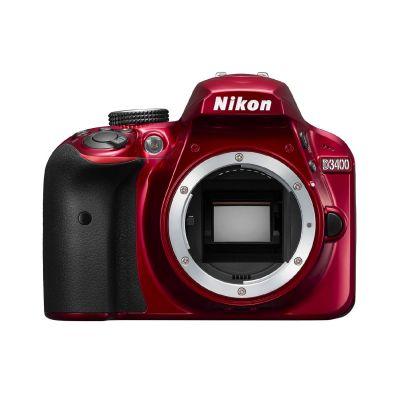D3400 Gehäuse Spiegelreflexkamera rot