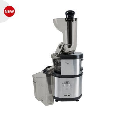 Steba  E 400 Premium Slow-Juicer Entsafter 400 Watt Edelstahl