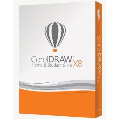 Corel DRAW Home & Student Suite X8 3 User (pro Haushalt) Win Deutsch Minibox DVD