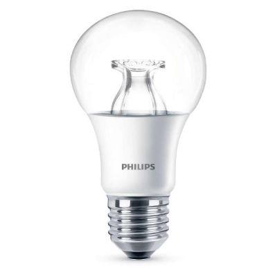 Philips  LED Warmglow Birne A60 8,5W (60W) E27 klar warmweiß dimmbar