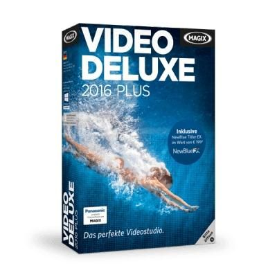 MAGIX Video deluxe 2016 PLUS Box