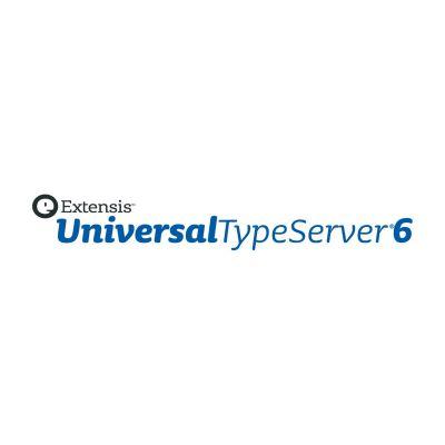 Extensis  Universal Type Server 6 Professional, UPG 10 Client Lizenzen, 1Jahr ASA