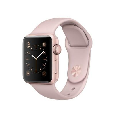 Apple  Watch Series 2 38mm Aluminiumgehäuse Roségold mit Sportarmband Sandrosa