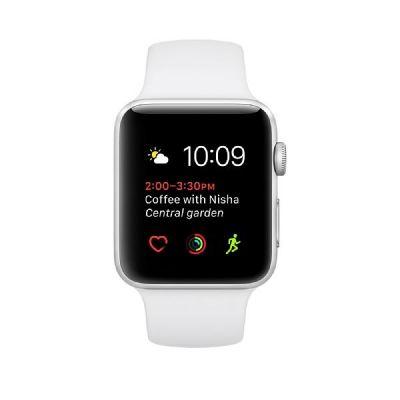 Apple  Watch S2 Aluminiumgehäuse 42mm mit Sportarmband