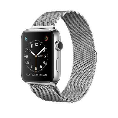 Apple  Watch S2 Edelstahlgehäuse 42mm Milanaise Armband
