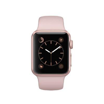 Apple  Watch Series 1 38mm Aluminiumgehäuse Roségold mit Sportarmband Sandrosa