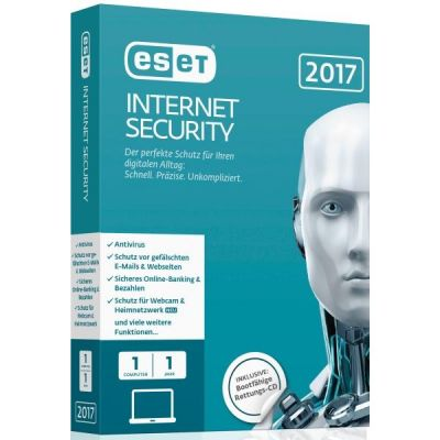 ESET Internet Security 2017 Edition 1 User (Minibox)