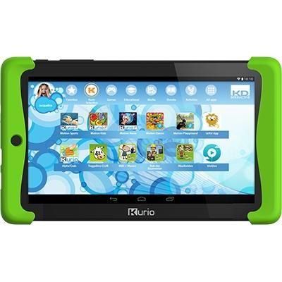KurioTAB 2+ Toggolino WiFi 8 GB Android Kinder-Tablet schwarz/grün