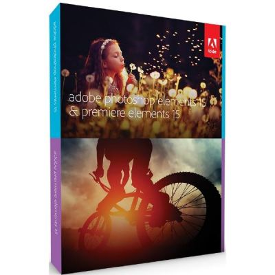 Adobe  Photoshop Elements & Premiere Elements 15 Student & Teacher Education Win/Mac DVD-ROM Englisch Minibox