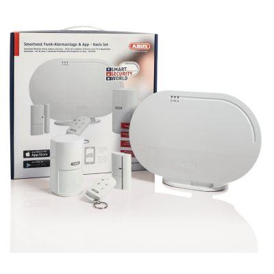 ABUS  Smartvest Funk-Alarmanlage & App - Basis Set FUAA35000A