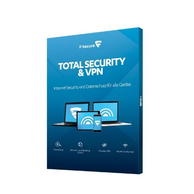 F Secure F-Secure Total Security und VPN / 1 Jahr / 5 Geräte