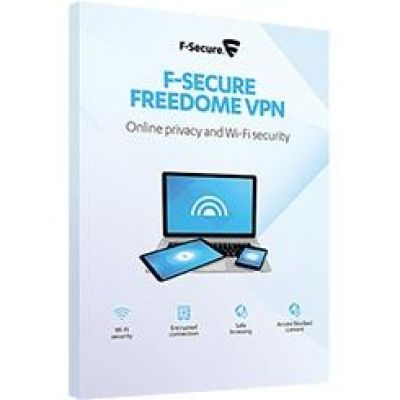 F Secure F-Secure Freedome VPN - 1 Jahr / 3 Geräte