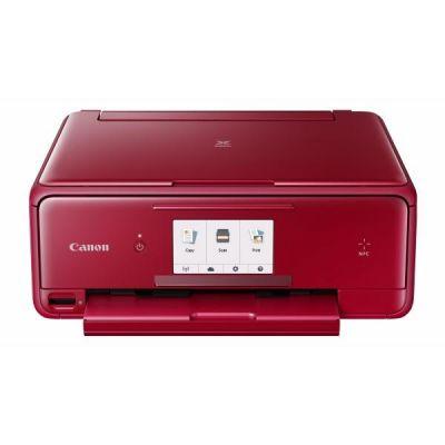 PIXMA TS8052 rot Multifunktionsdrucker Scanner Kopierer WLAN