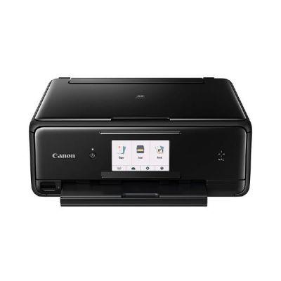 PIXMA TS8050 schwarz Multifunktionsdrucker Scanner Kopierer WLAN