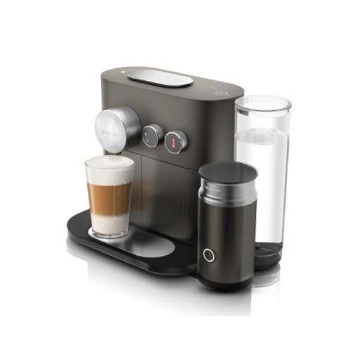 DeLonghi EN 355.GAE Expert  und  Milk Nespresso-System anthrazit/silber - Preisvergleich